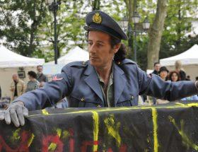 vincenzo cirillo Fete de l'Europe a Dijon Jardin Darcy maggio 2009