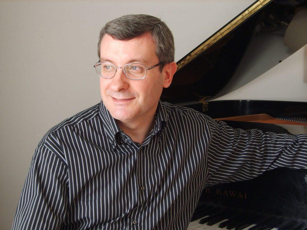 Luigi Nicolini al pianoforte