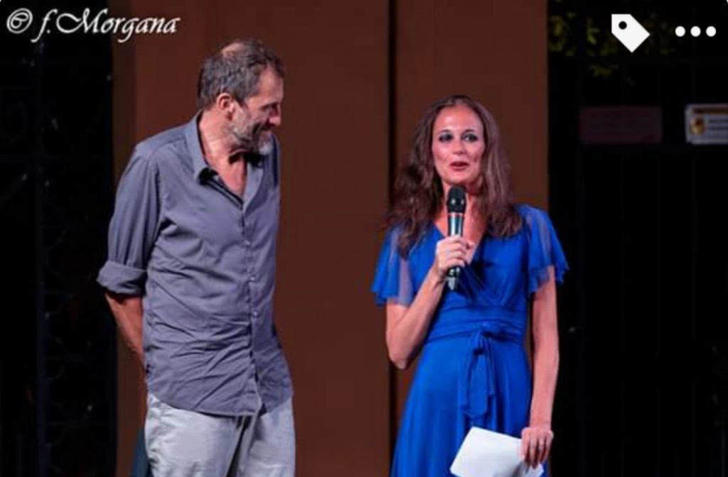 6 Chiara Pasetti con l'assessore Claudio Casanova, Varigotti 2019