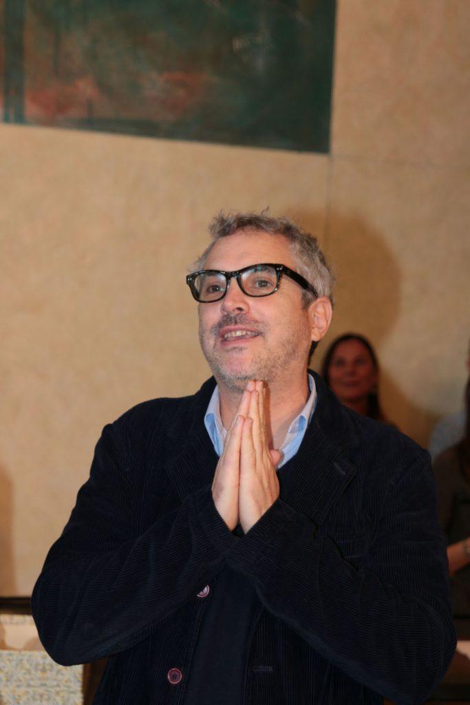 Alfonso Cuarón in Municipio a Pietrasanta