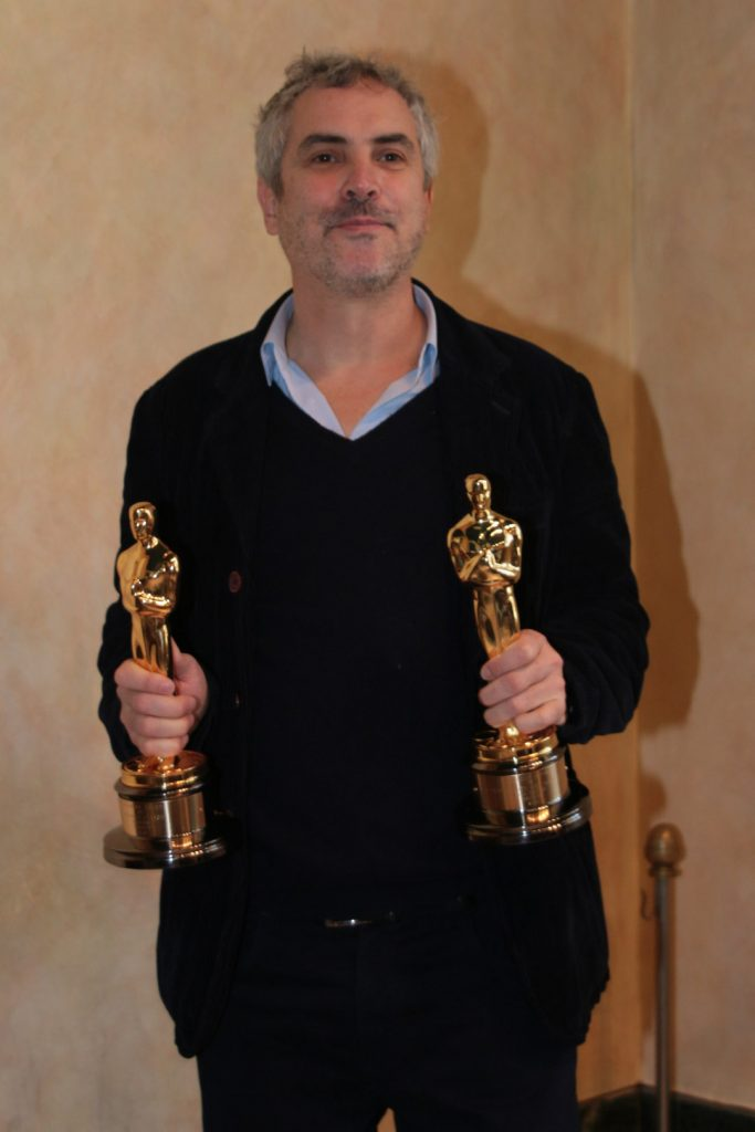 Alfonso Cuarón a Pietrasanta con due Oscar