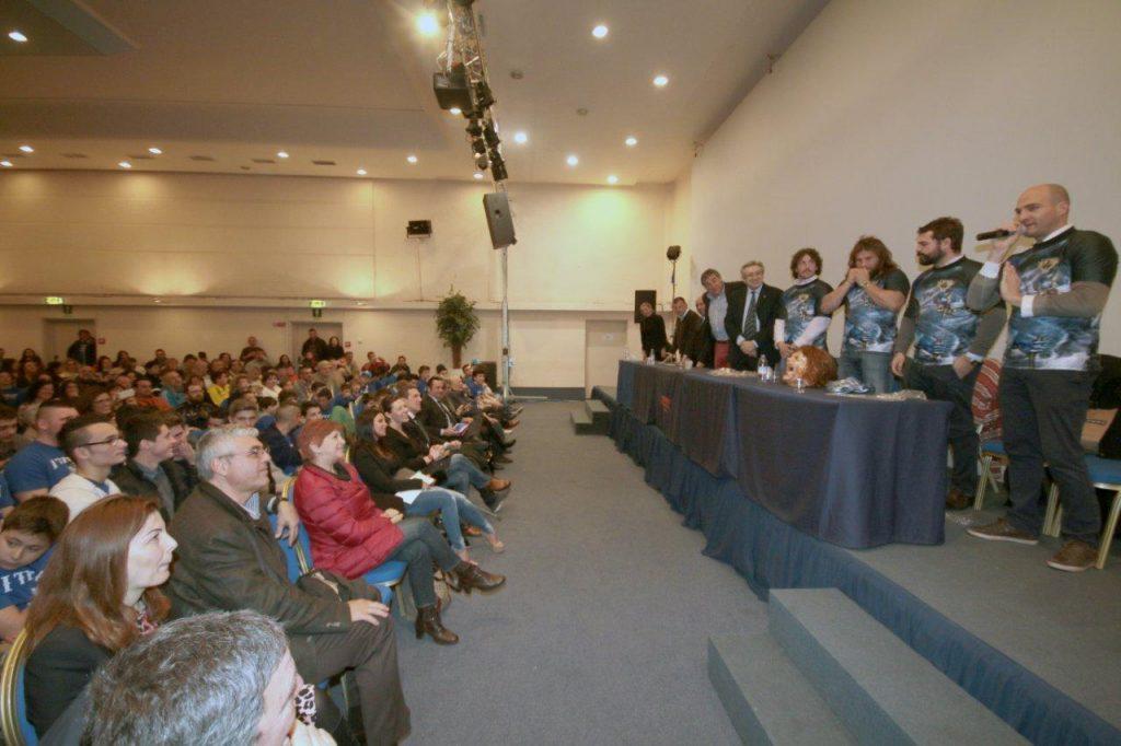 i titani conferenza stampa 3