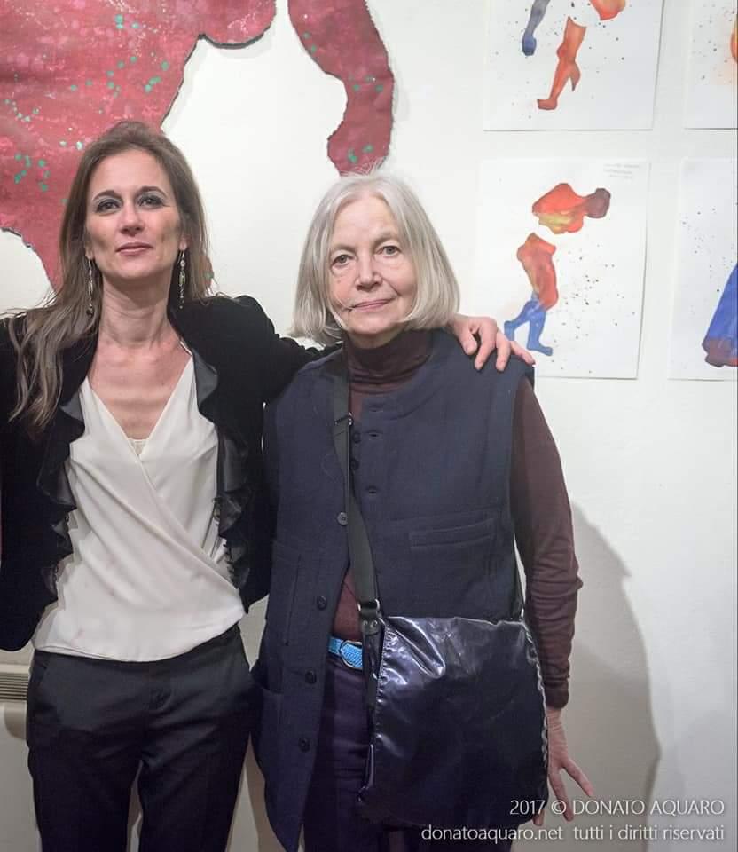 3 Chiara Pasetti con Colette Deble, foto di Donato Aquaro, Novara 2017
