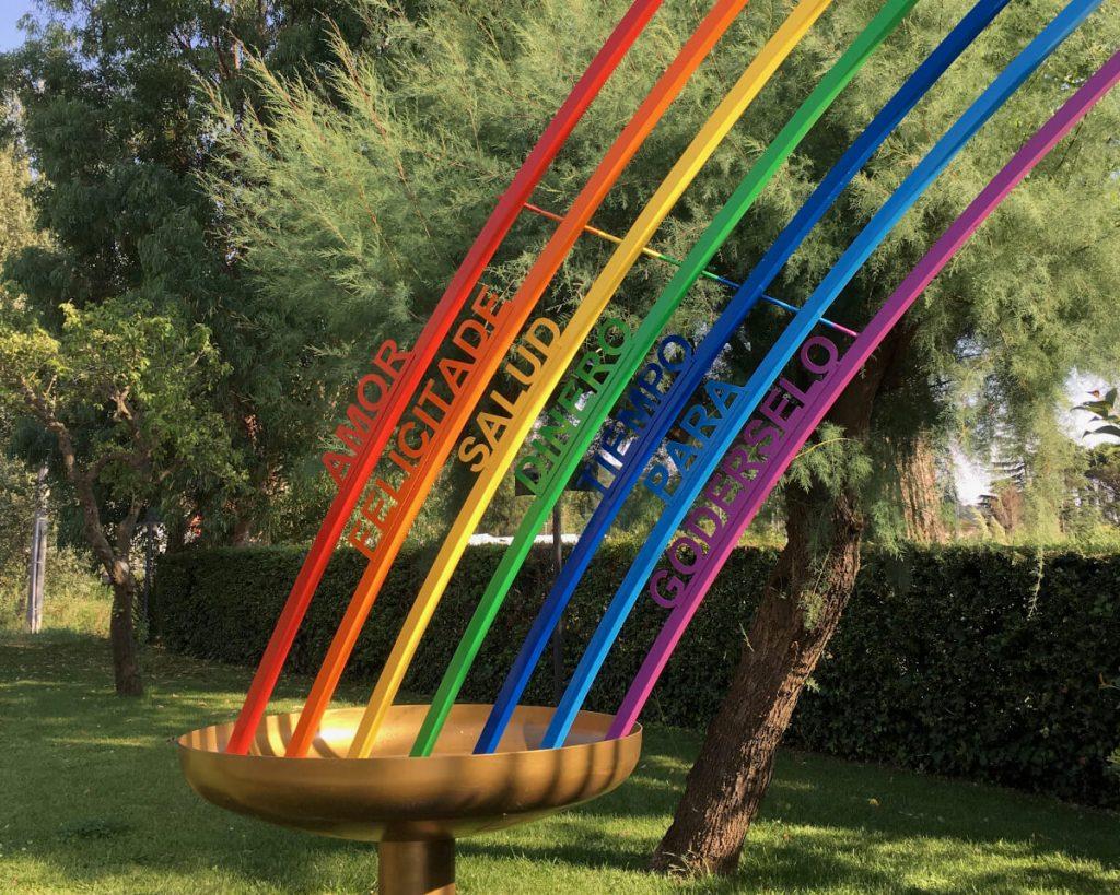 16 podere lovolio massarosa fondazione pomara scibetta opere d'arte l'arcobaleno
