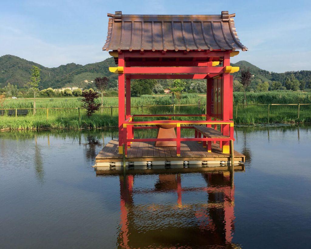 19 podere lovolio massarosa fondazione pomara scibetta la pagoda galleggiante