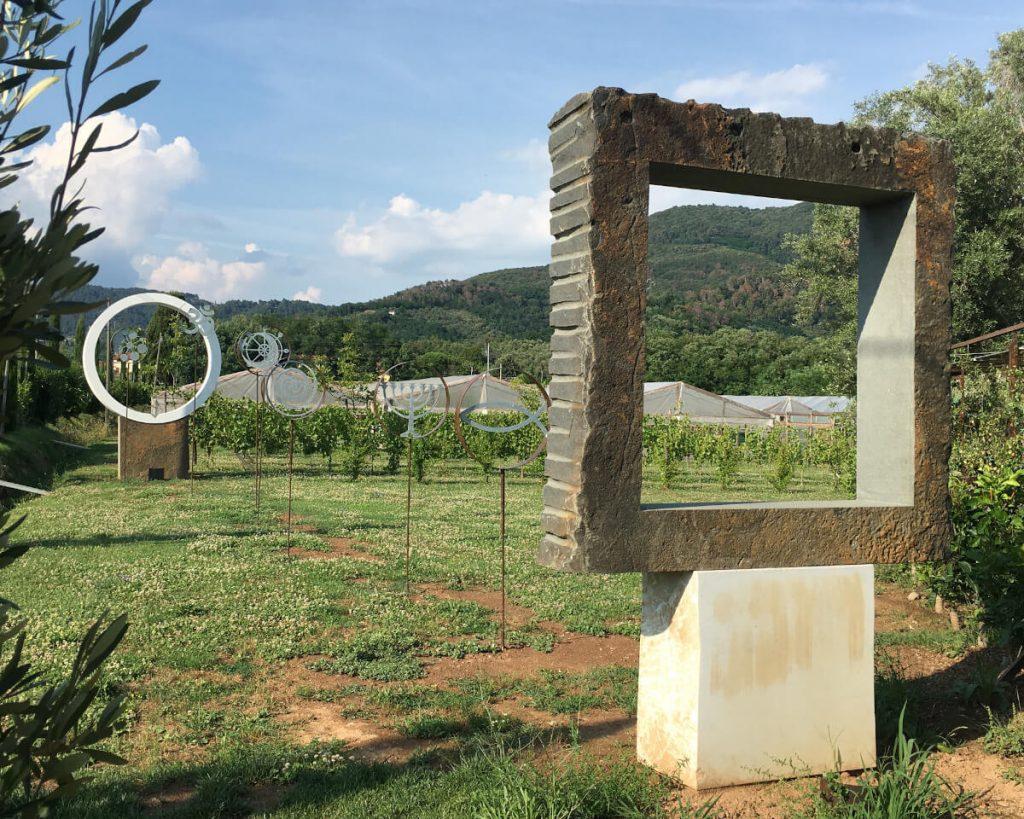 7 podere lovolio massarosa fondazione pomara scibetta opere d'arte