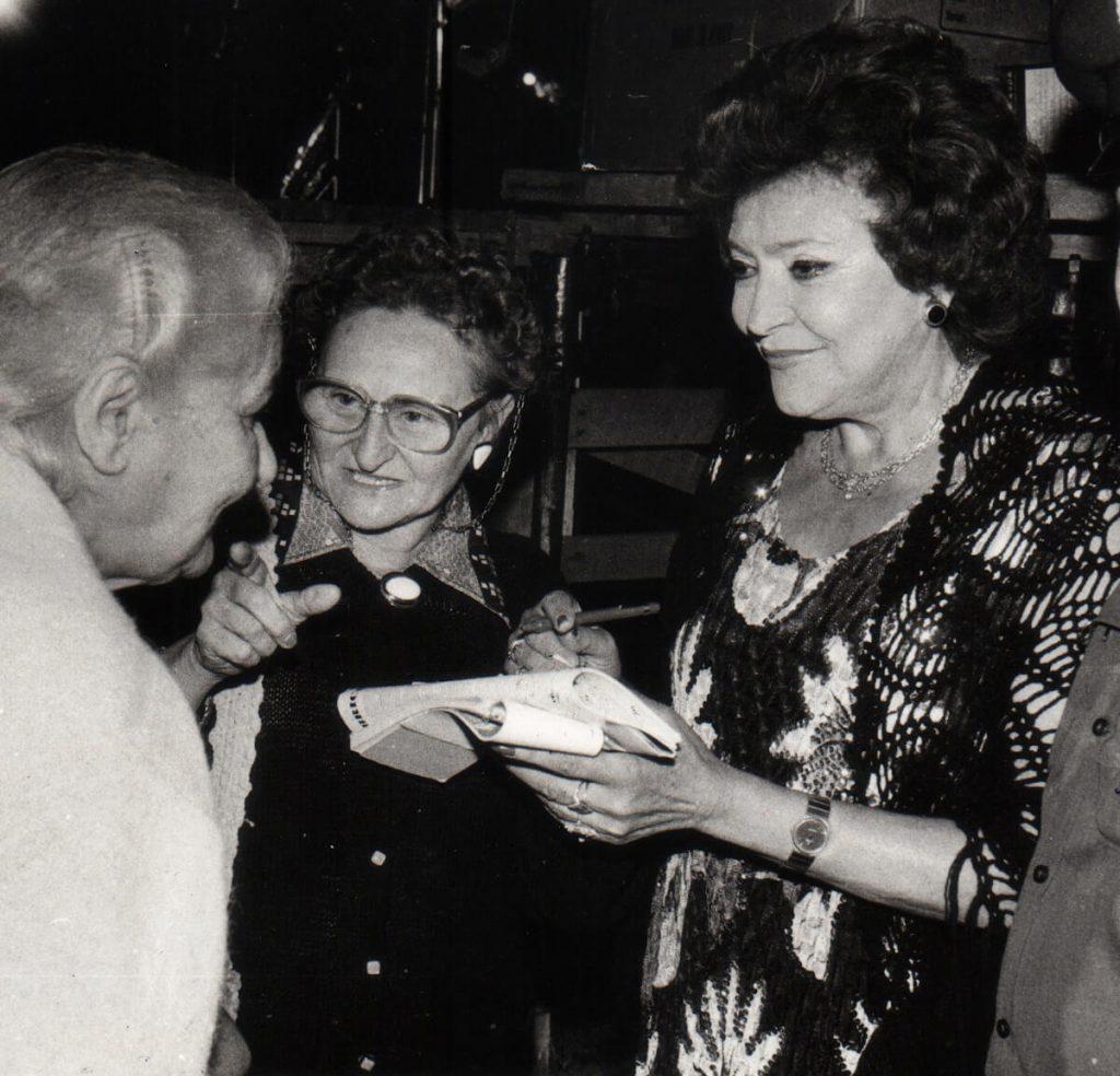 giuse tantignoni perazzo 6 con nilla pizzi nel 1985