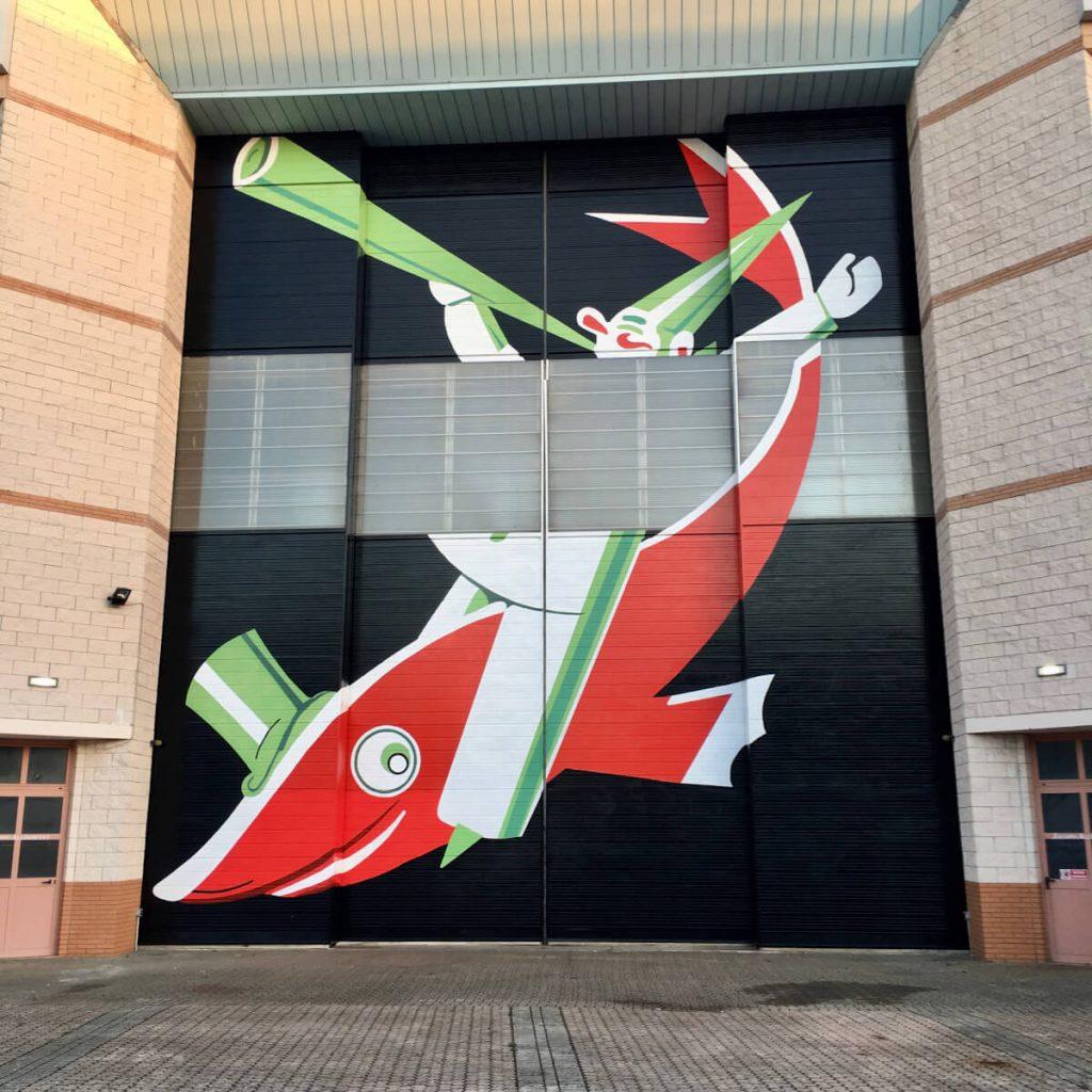13 IMG_E7959 portoni hangar cittadella del carnevale di viareggio