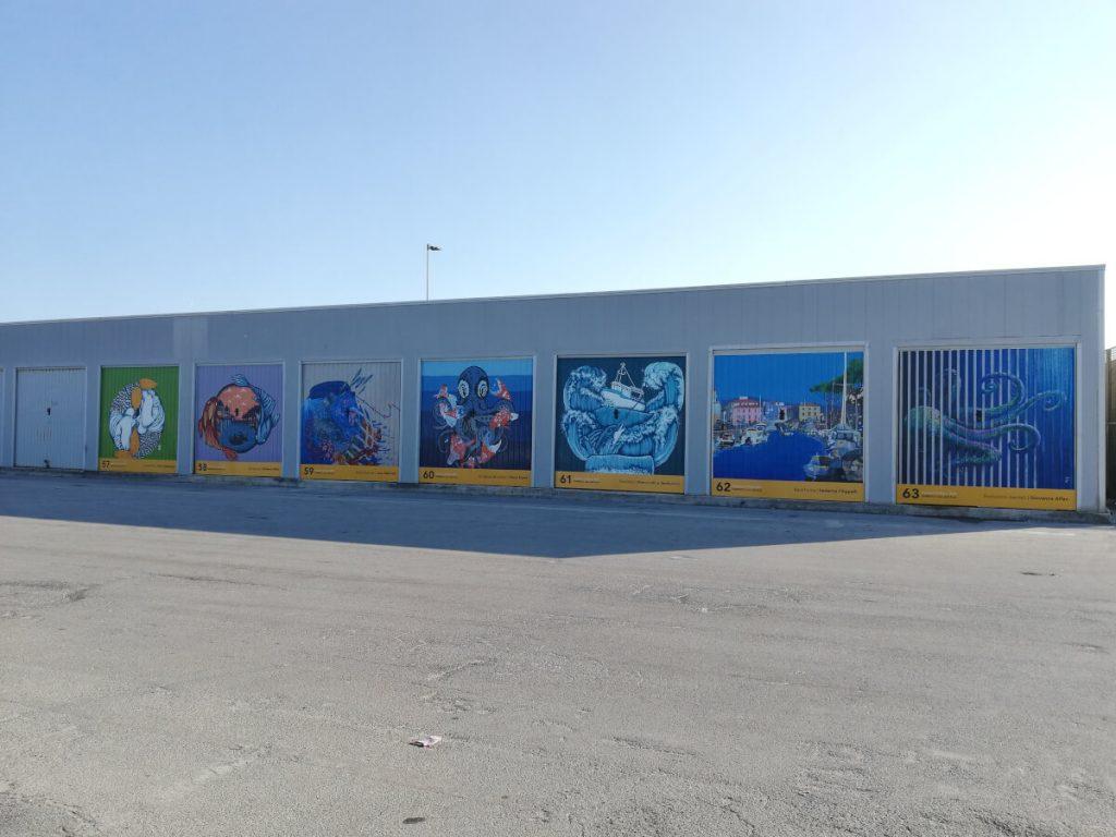 18 Pescatori di Porte a Viareggio i lavori finiti