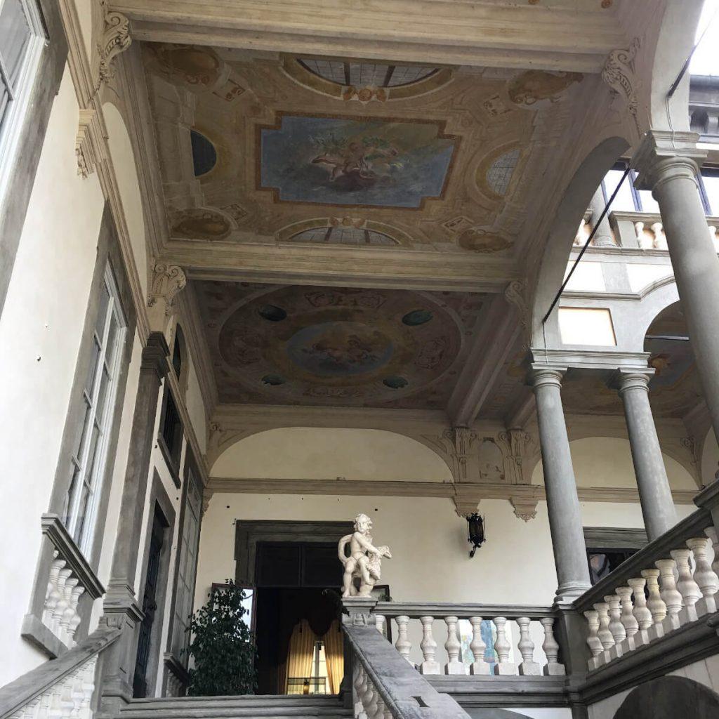 32 dettagli di toscana palazzo pfanner lucca