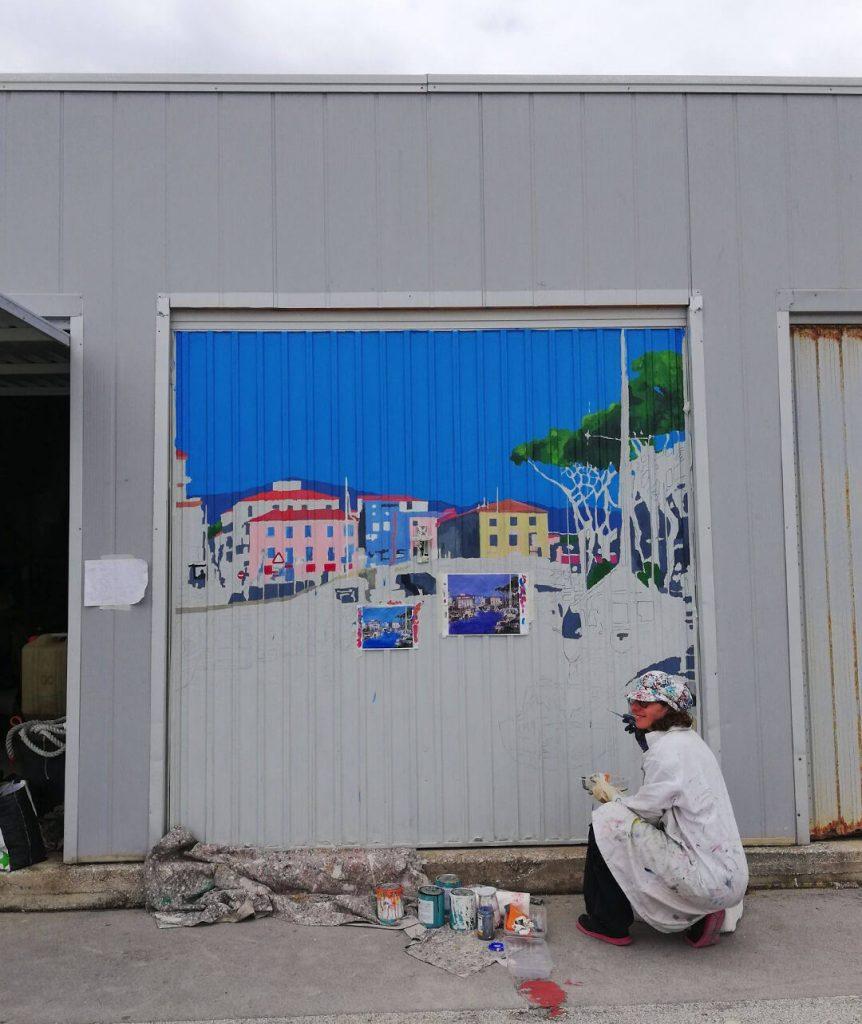 6 Pescatori di Porte a Viareggio i lavori in corso
