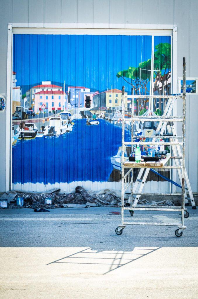 9 Pescatori di Porte a Viareggio i lavori in corso di Federica Filippelli