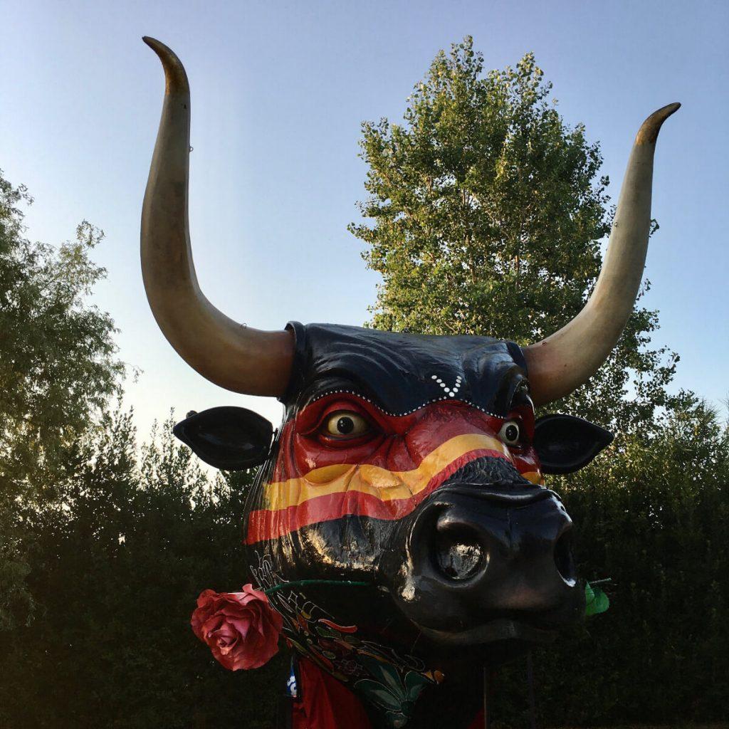 la testa del toro di carlo lombardi cittadella del carnevale di viareggio