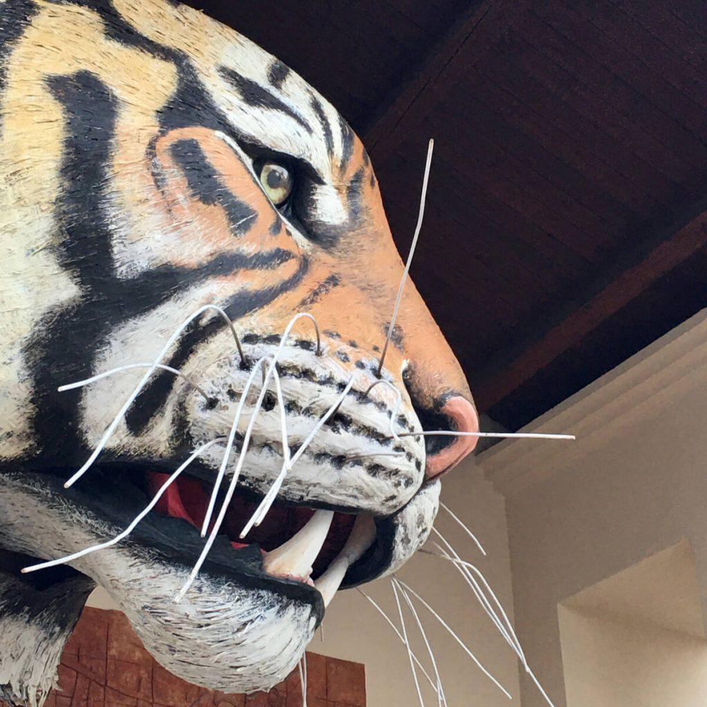 la tigre di luca bertozzi ingresso fondazione carnevale di viareggio 2