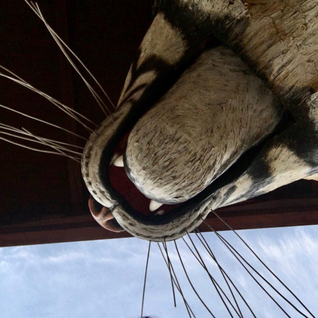 la tigre di luca bertozzi ingresso fondazione carnevale di viareggio 3