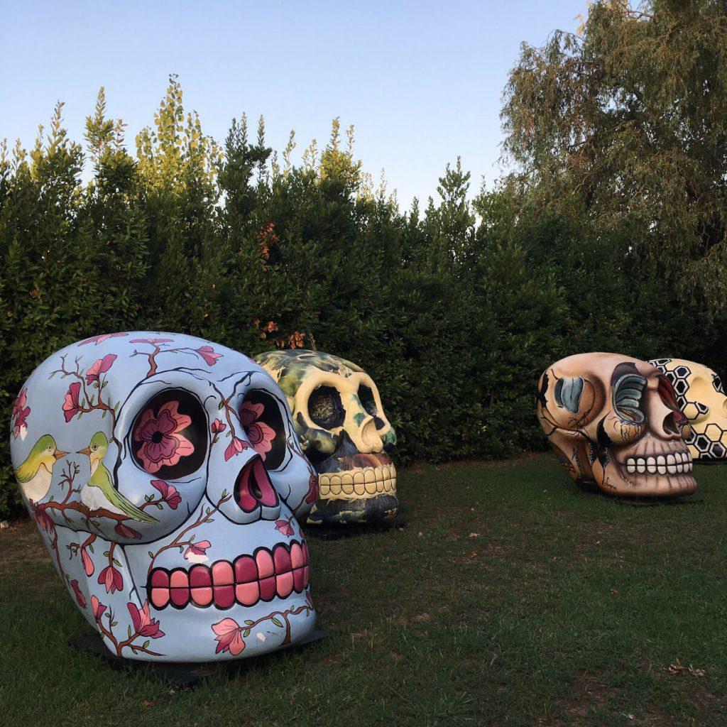 the skull parade cittadella del carnevale di viareggio 1