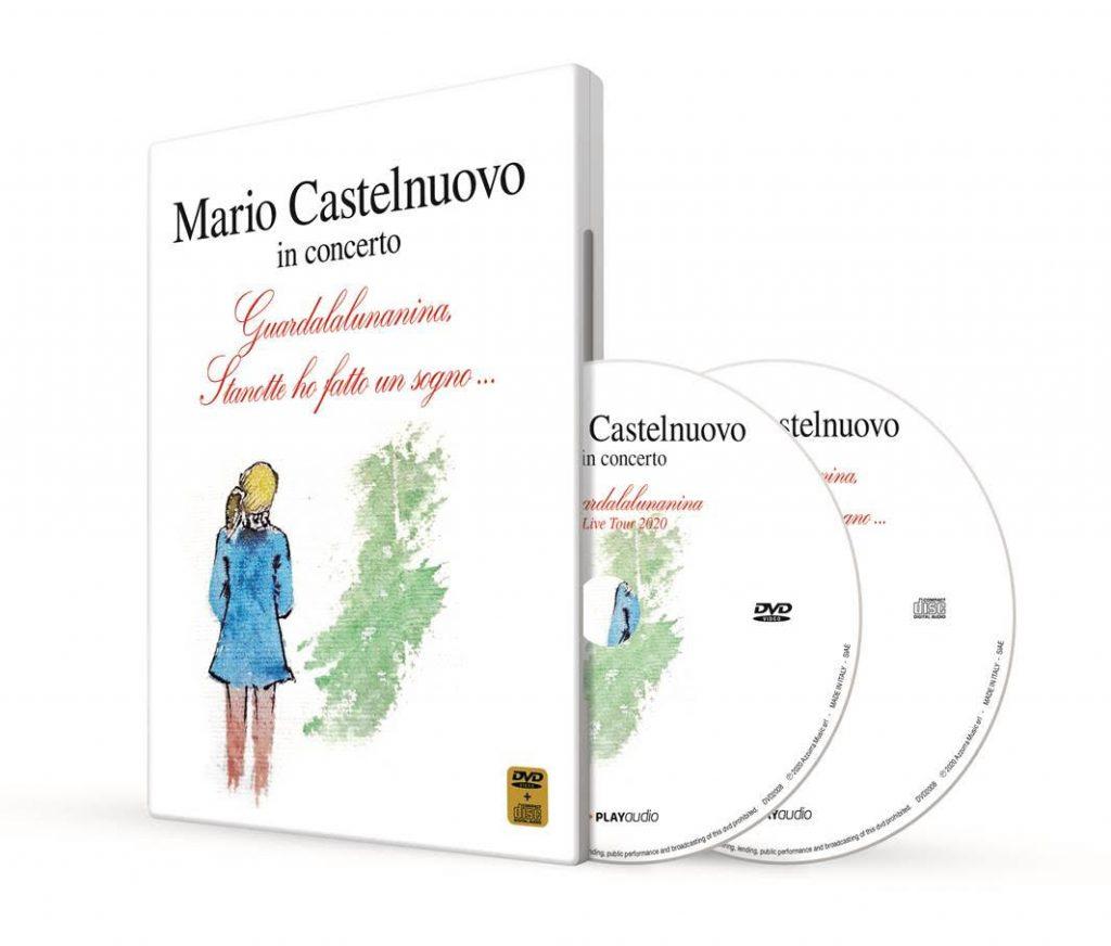 Mario Castelnuovo copertina dvd Guardalalunanina