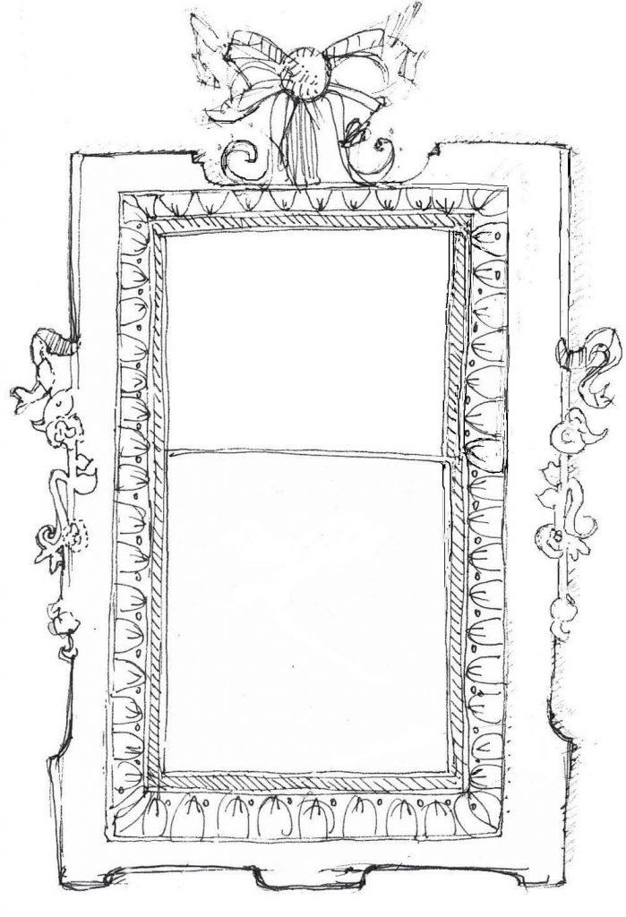 """""""Visioni"""" di Marcella Malfatti illustrazione del racconto """"La stanza dai nove specchi"""""""
