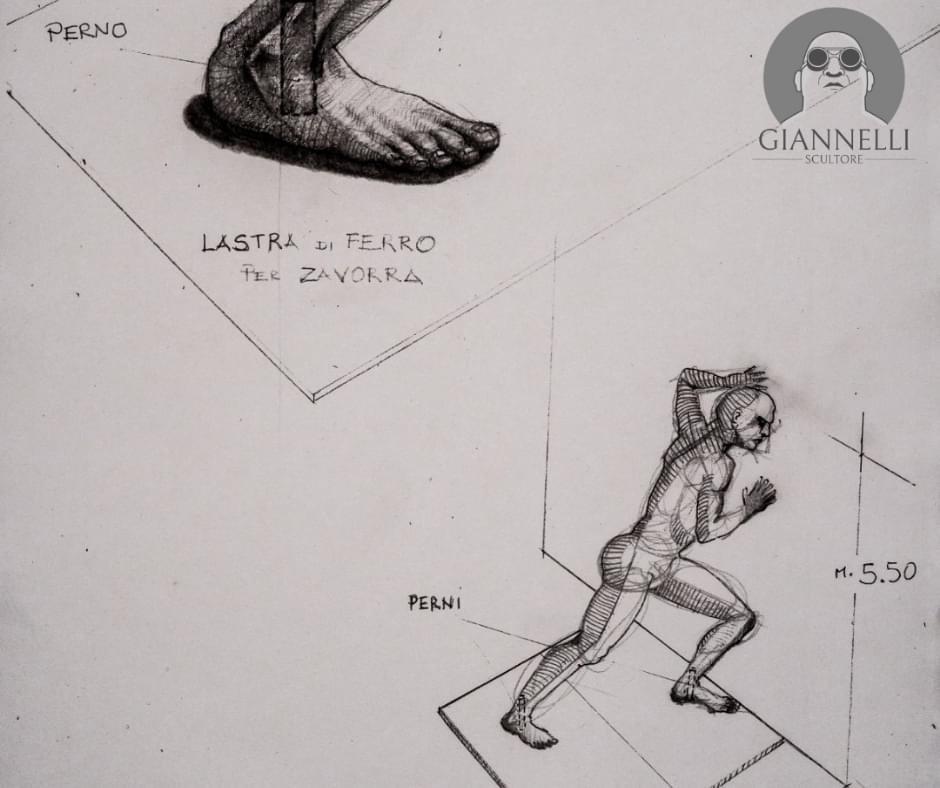 Emanuele Giannelli e Mr Arbitrium il disegno 2