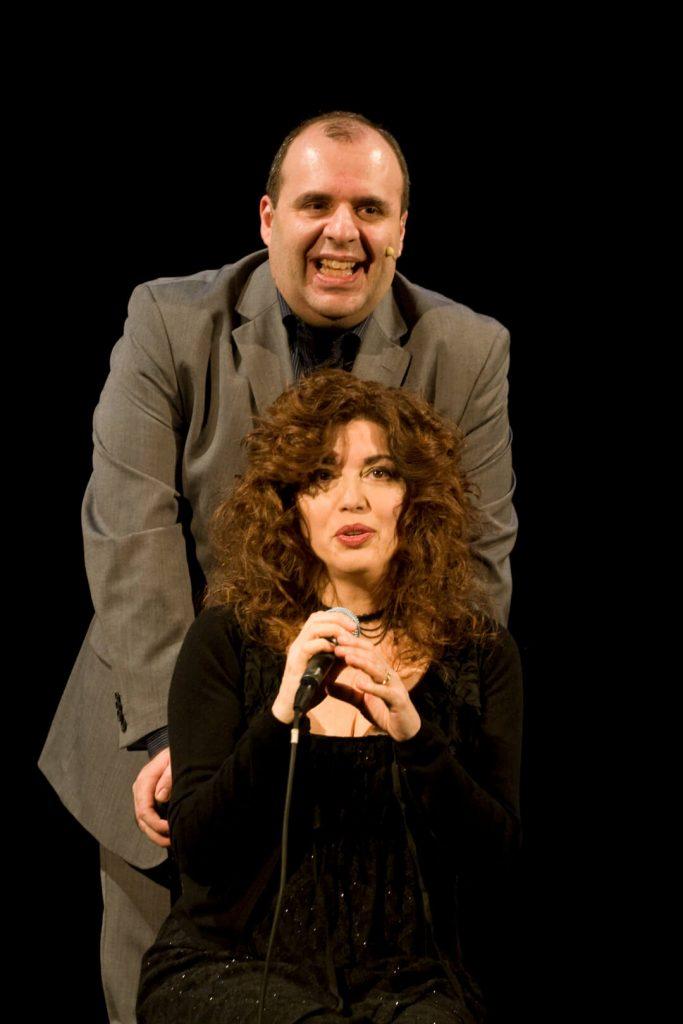 Andrea Pedrinelli con Susanna Parigi ne Il Saltimbanco e la Luna