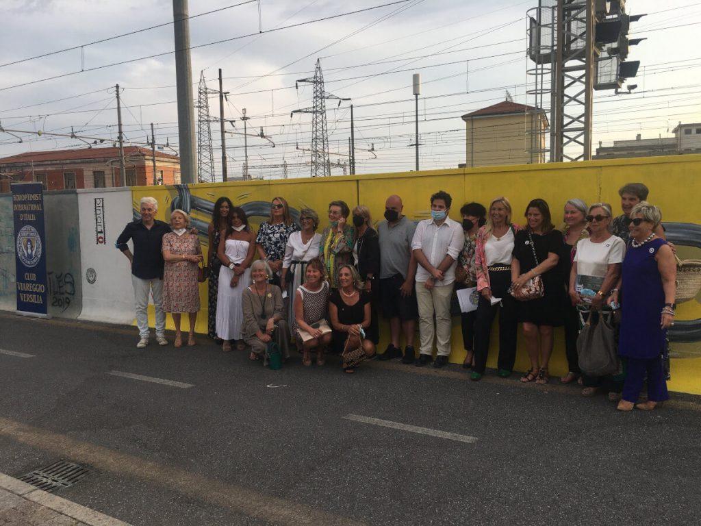 binario 10 viareggio via ponchielli 2021 inaugurazione