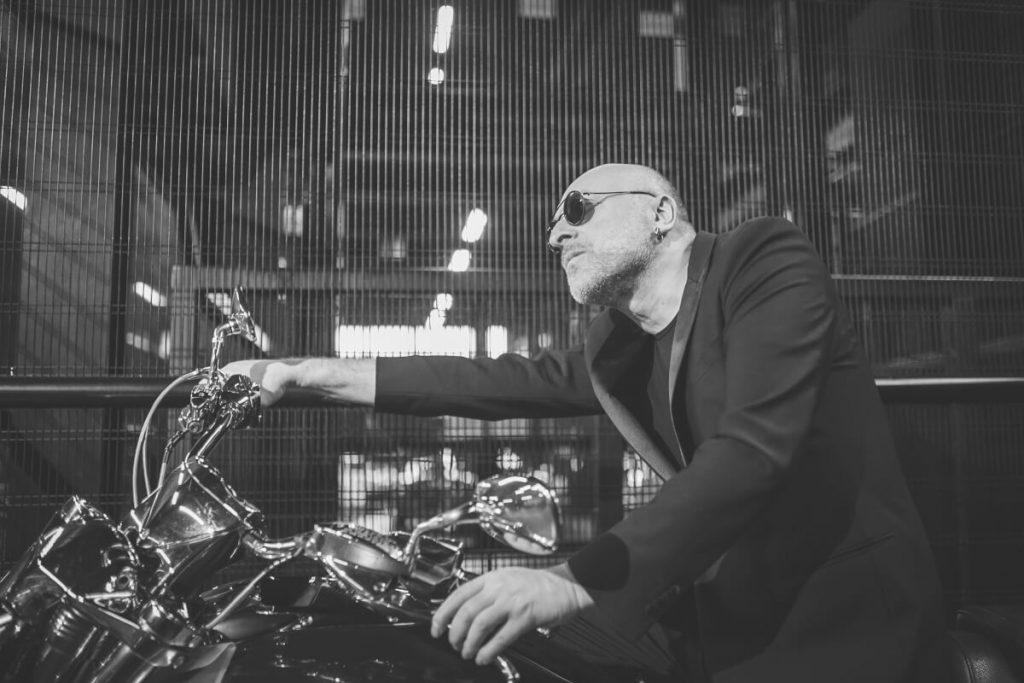 mario biondi sulla moto